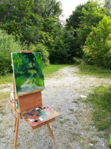 Kristina Guelazonia artiste peintre