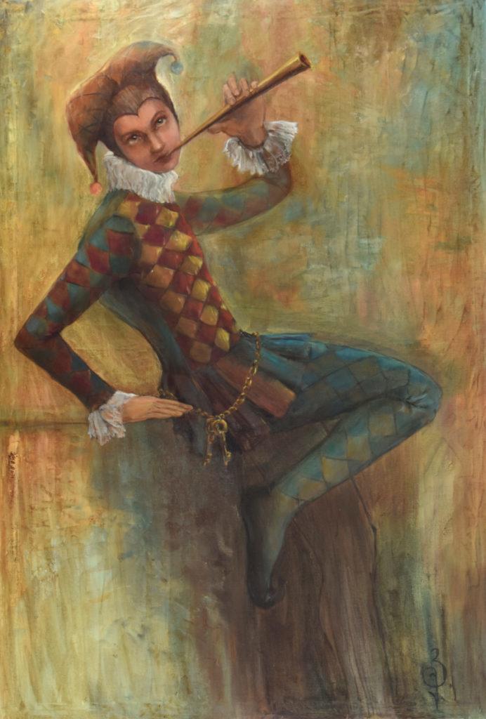 « Jester », 90×130