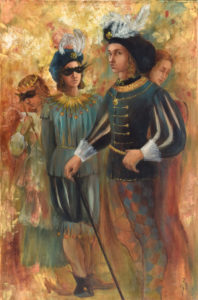 « Masquerade », 80×120